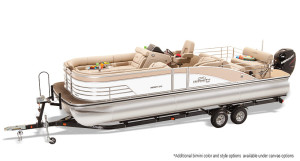 lowe infinity 270 cl pontoon boat for sale
